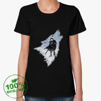 Женская футболка из органик-хлопка Игра Престолов: Джон Сноу