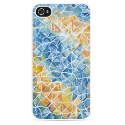 Чехол для iPhone Рыбы сквозь блики
