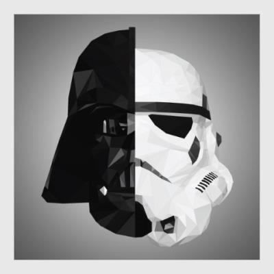 Постер Star Wars: Вейдер и Штурмовик