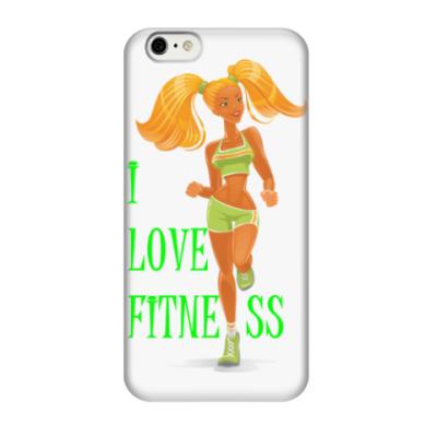 Чехол для iPhone 6/6s я люблю фитнес
