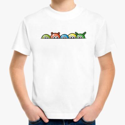 Детская футболка Blobs - цветные шарики