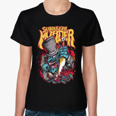Женская футболка Monster