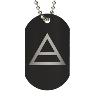 Жетон dog-tag 30 Seconds To Mars