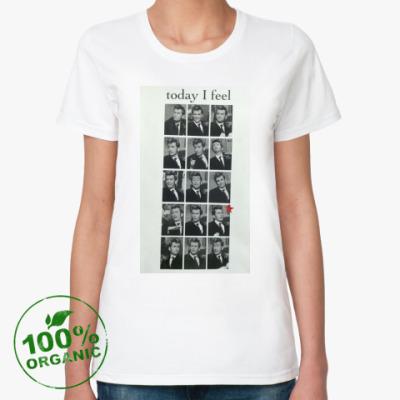 Женская футболка из органик-хлопка David Tennant