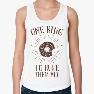 Женская майка One Ring to Rule Them All
