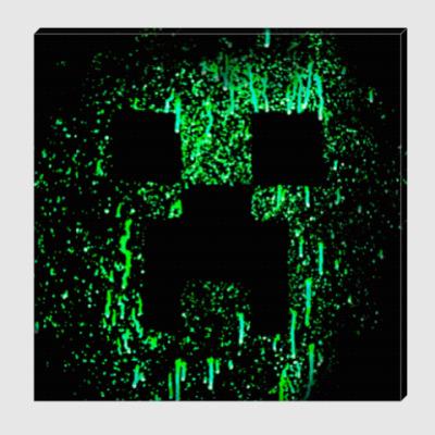 Холст Minecraft Creeper