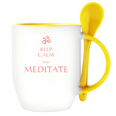 Йога. Keep Calm and Meditate