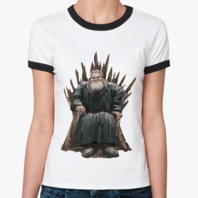 Женская футболка Ringer-T Игра Престолов: Ходор