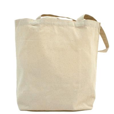 """Холщовая сумка """"Череп"""""""