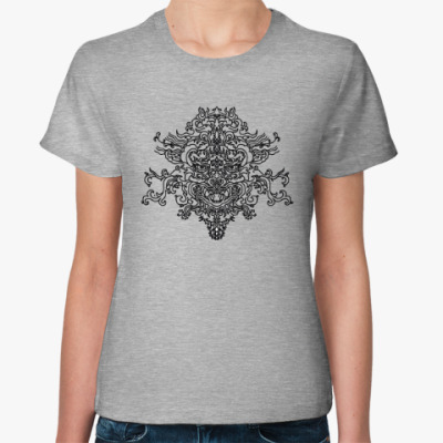 Женская футболка dragon