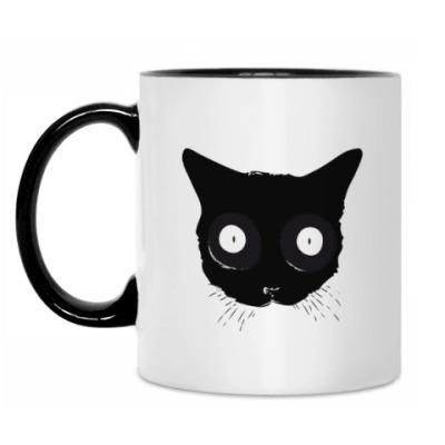 Кружка Мордочка кошки