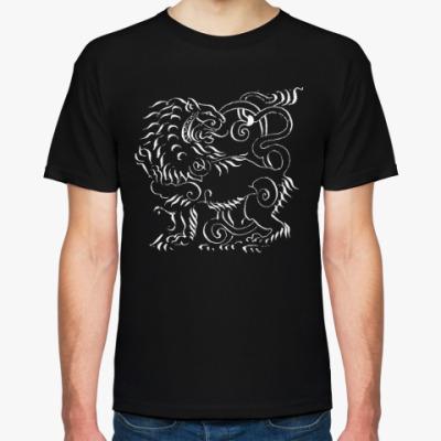 Футболка Геральдический лев