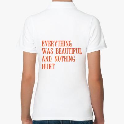 Женская рубашка поло 'Everything'