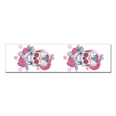 Наклейка (стикер) Flower skull