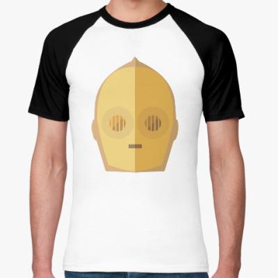 Футболка реглан Star Wars: C-3PO