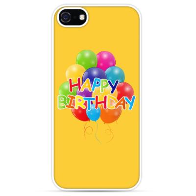 Чехол для iPhone Happy Birthday