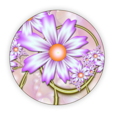 Костер (подставка под кружку) Весна