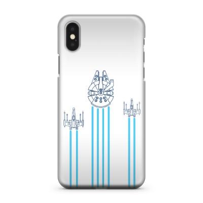 Чехол для iPhone X звёздные войн (Star wars)