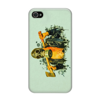 Чехол для iPhone 4/4s Zombie Killer