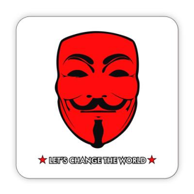 """Костер (подставка под кружку)  """" Анонимус"""""""