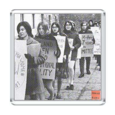 Магнит Феминистки 70-х