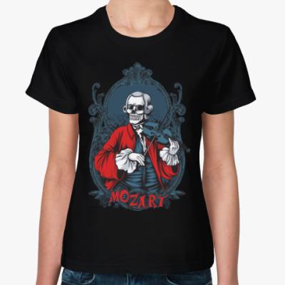 Женская футболка Mozart