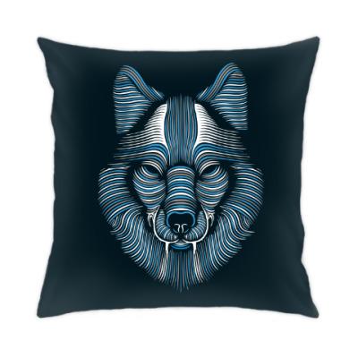 Подушка Волк