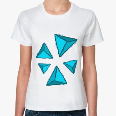 Классическая футболка Abstra Пирамиды