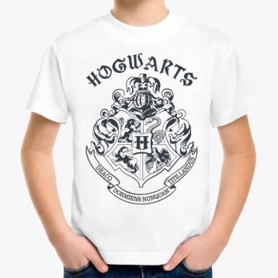 Детская футболка Хогвартс