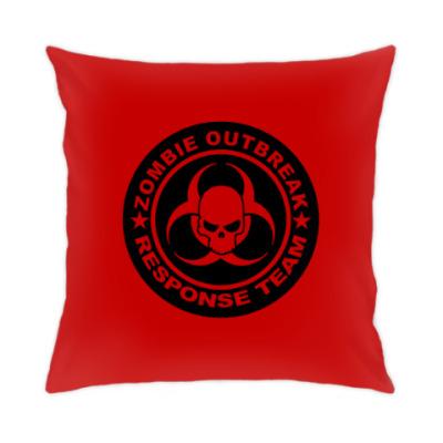Подушка Zombie outbreak response team