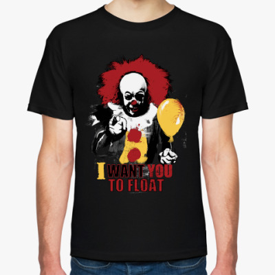 Футболка Clown It by Stephen King