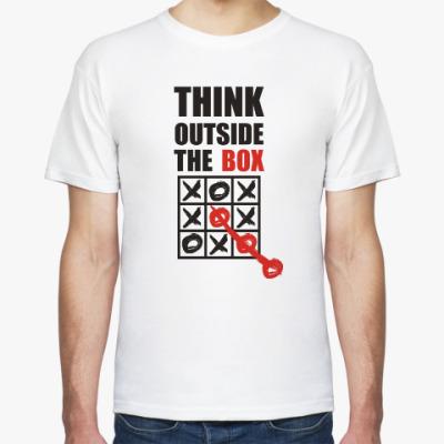 Футболка Think outside the box
