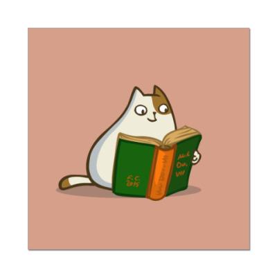 Наклейка (стикер) Пятничный Котик №19