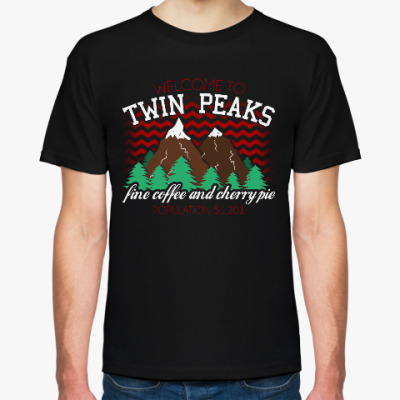Футболка Сериал Твин Пикс Twin Peaks