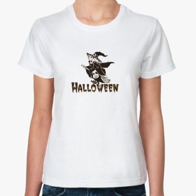 Классическая футболка Halloveen