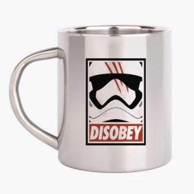 Кружка металлическая Star Wars: Disobey