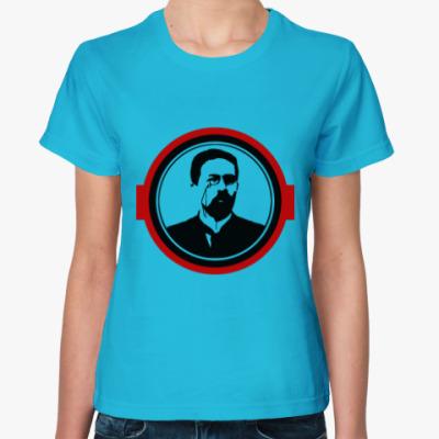 Женская футболка Антон Чехов