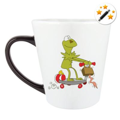 Кружка-хамелеон Kermit the Frog