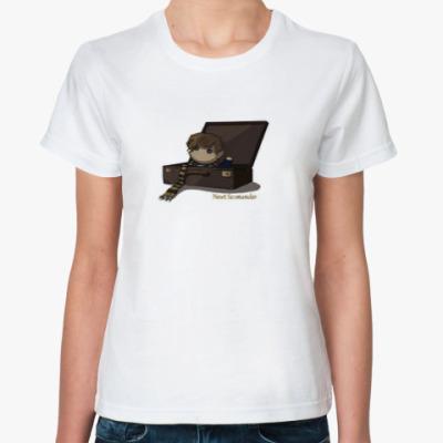 Классическая футболка Newt Scamander