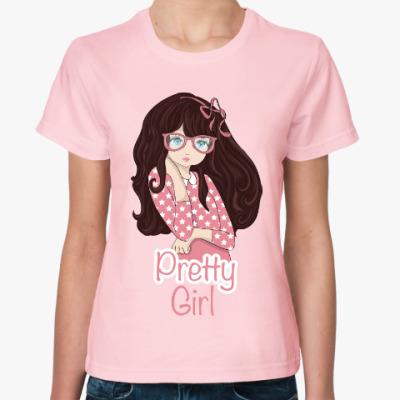 Женская футболка Девочка