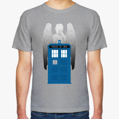 Футболка Weeping Angel Doctor Who