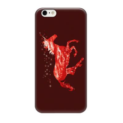 Чехол для iPhone 6/6s Рубиновый Единорог