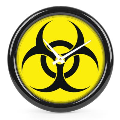 Часы Знак Biohazard