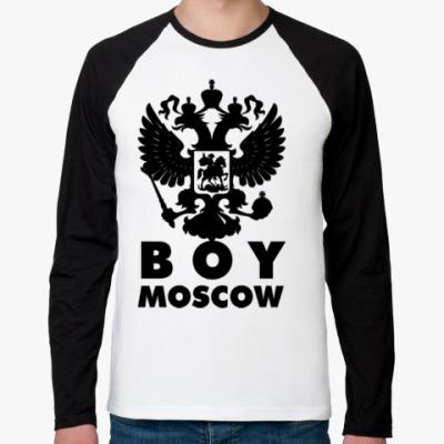 Футболка реглан с длинным рукавом BOY MOSCOW