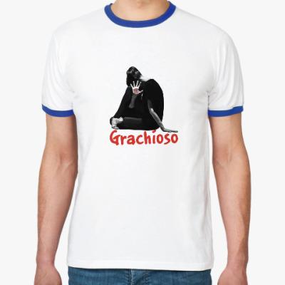Футболка Ringer-T 'Grachioso'