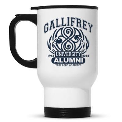 Кружка-термос Gallifrey University Alumni