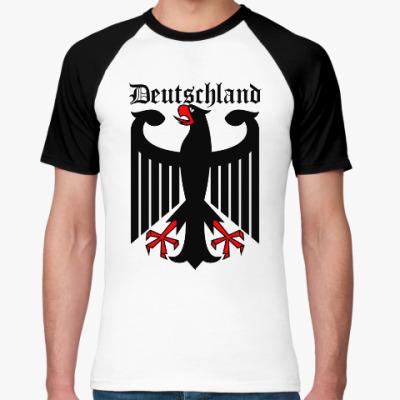 Футболка реглан Германия