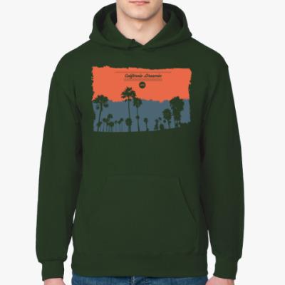 Толстовка худи Город в Калифрнии (USA)