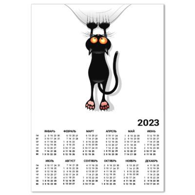 Календарь Черная кошка