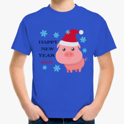 Детская футболка Happy New Year 2019